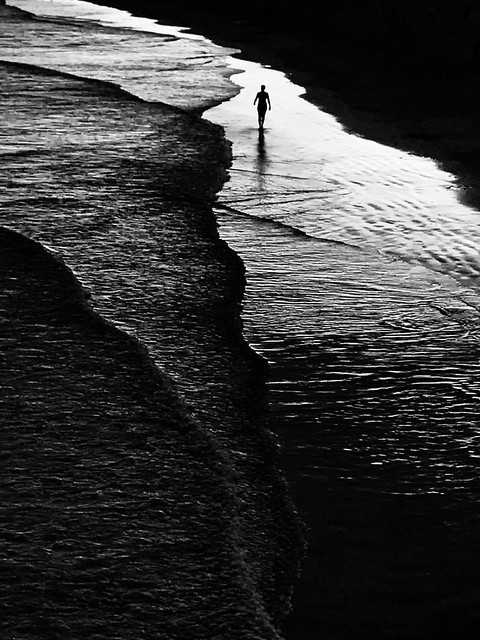 """ Troubled Waters "" by Mirela Momanu"