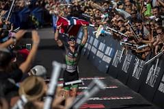 IM 70.3 Championships: Borci z krátkého triatlonu diktovali drsné tempo