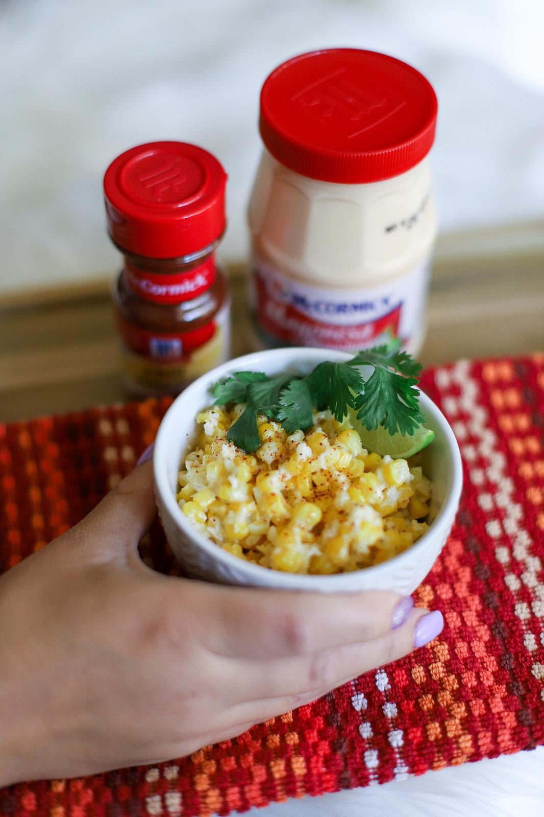 IMG_3285-2Mexican Street Corn Salad with McCormick Mayonesa #mccormickspice