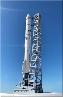 2 Blue Origin Set comp.