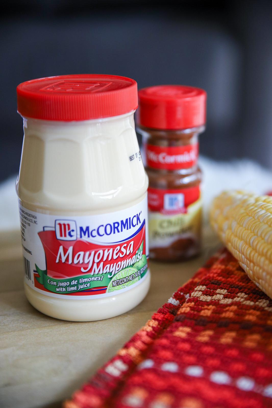 Mexican Street Corn Salad with McCormick Mayonesa #mccormickspice