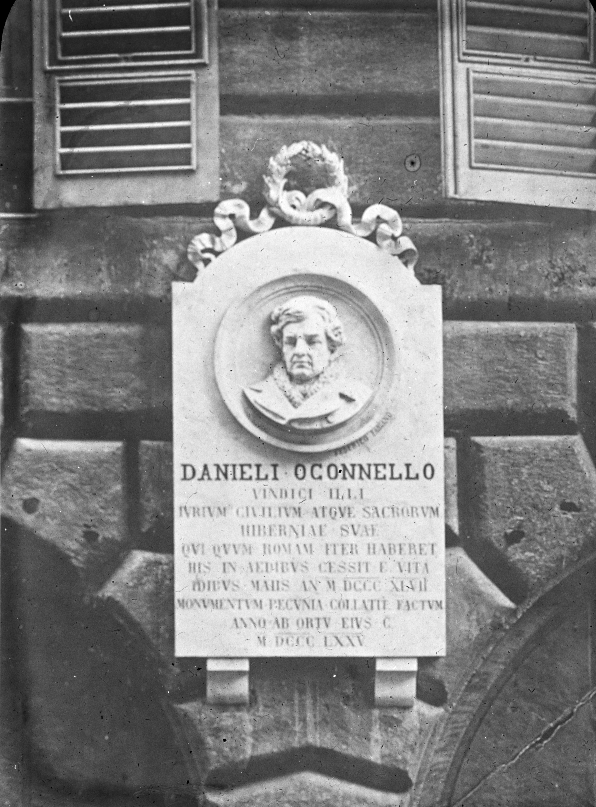 O'Connell monument, Genoa not Geneva.