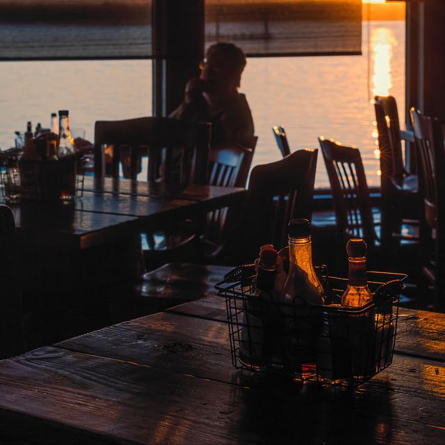 Sunset at The Libertine.
