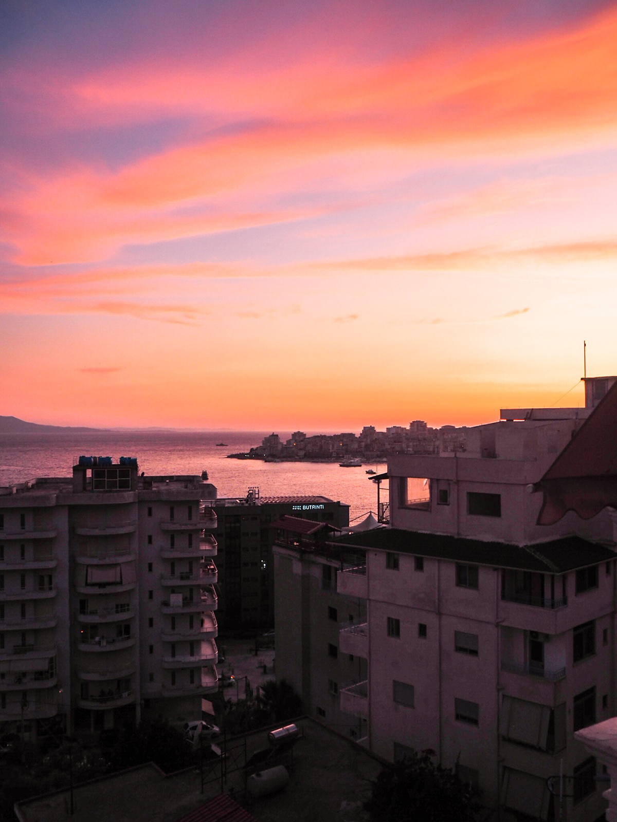 auringonlasku saranda