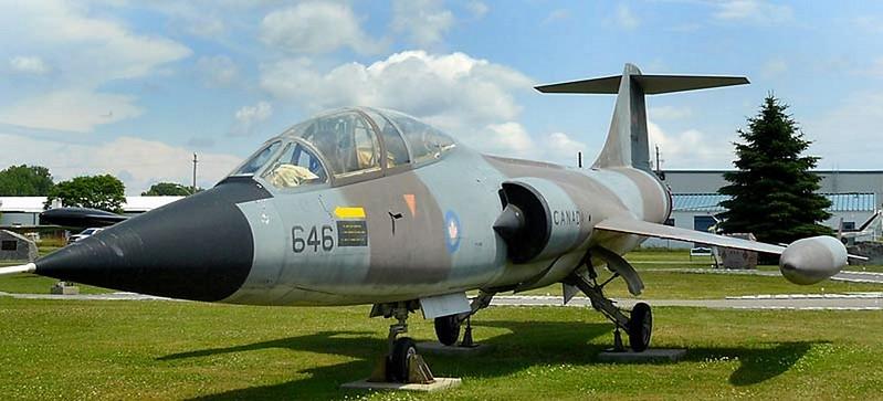 Canadair CF-104D Starfighter 1