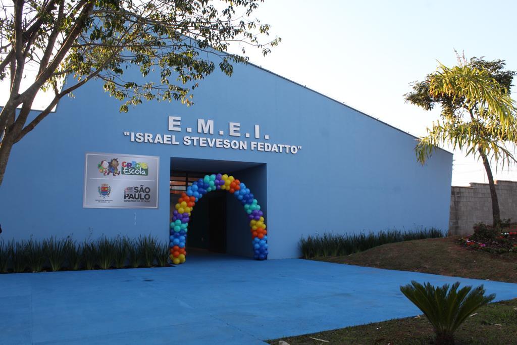 Inauguração de EMEI em Araras