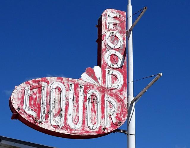 MI, Long Lake Hts.-U.S. 27(Old) Long Lake Bar Neon Sign