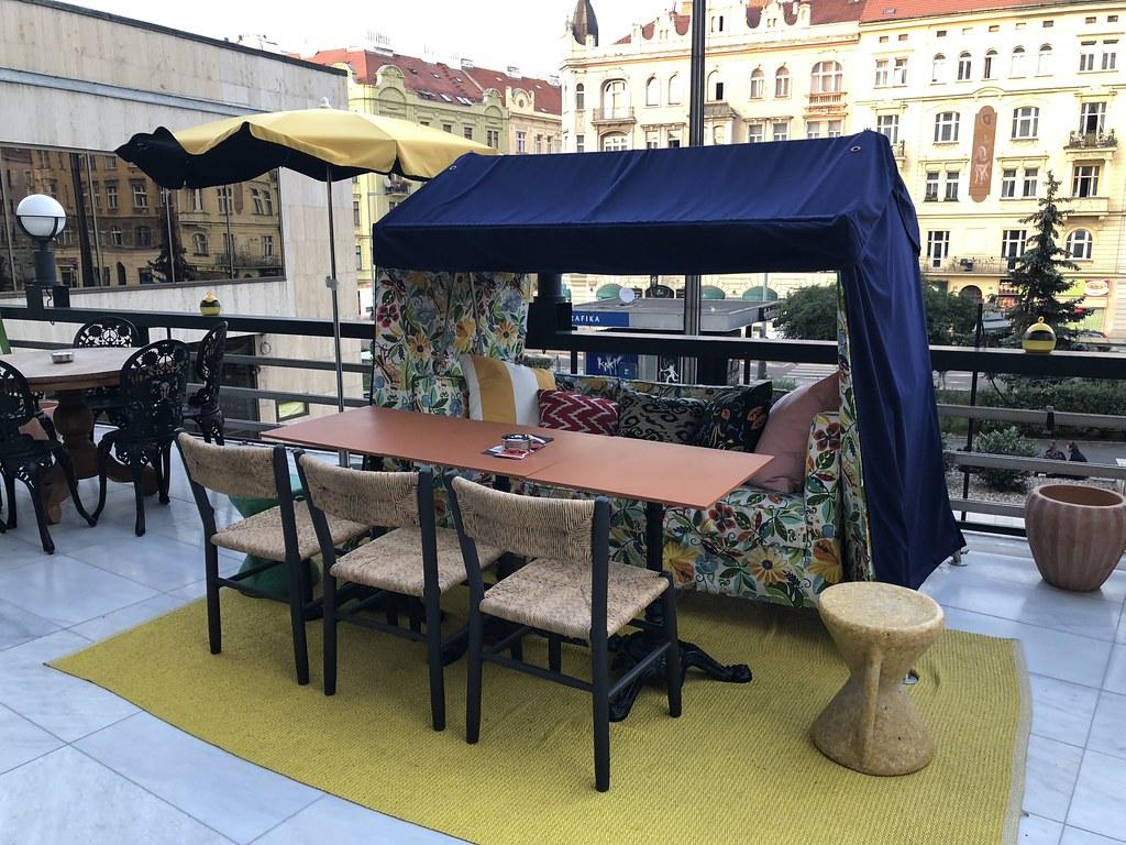 Mama Shelter Prague_dinner