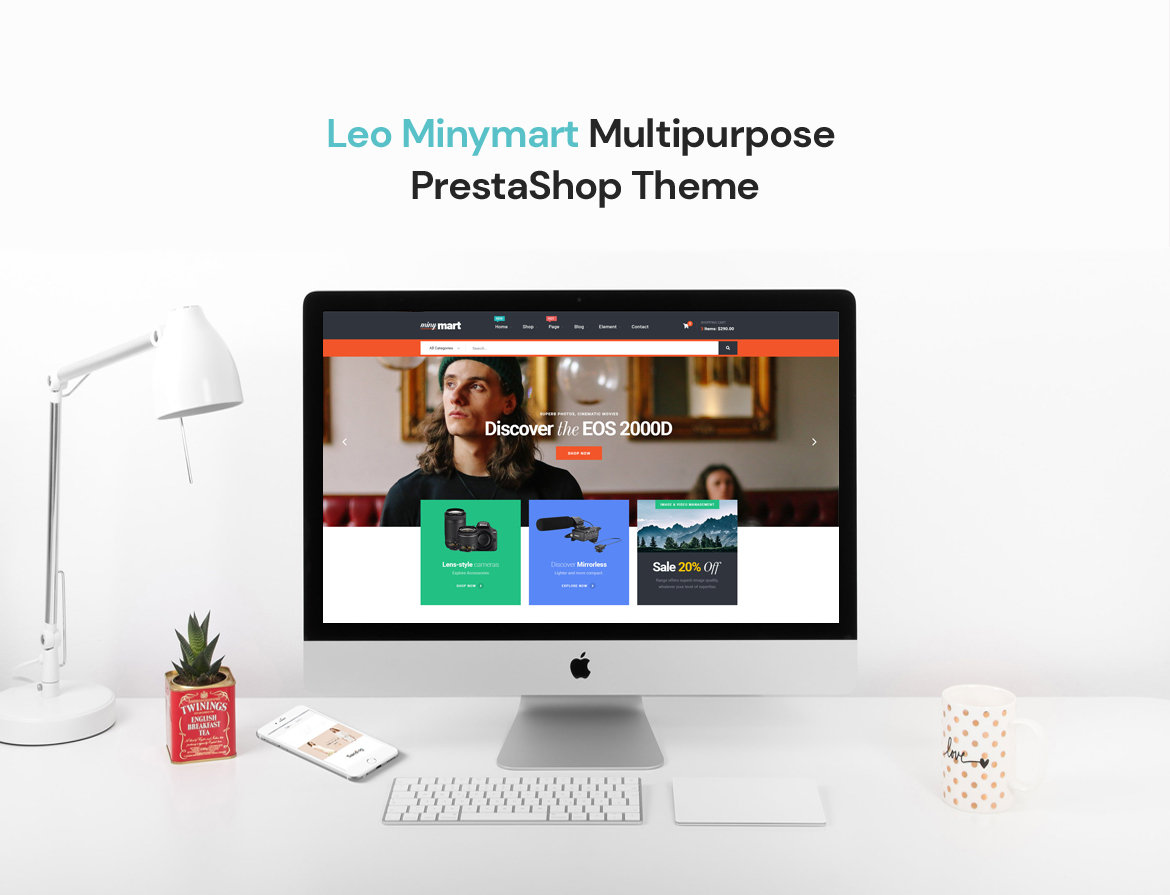Leo Minymart Creative Multipurpose PrestaShop Theme