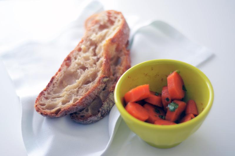 Saladinha de cenouras à Algarvia