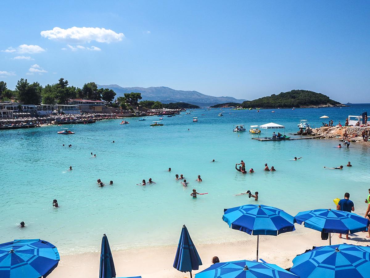 parhaat rannat Albania