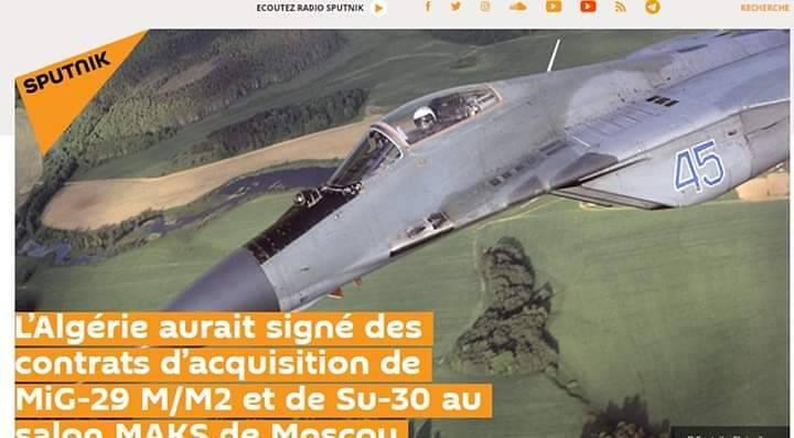 القوات الجوية الجزائرية تتعاقد على سرب من مقاتلات ميج 29 م/م2 في معرض ماكس - صفحة 2 48704802247_a6f4ff9a4e_b