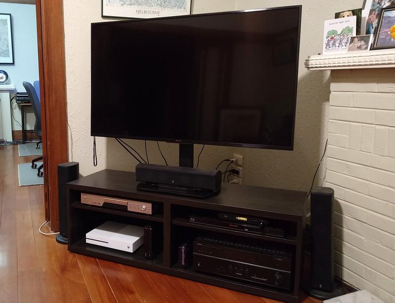 New big TV