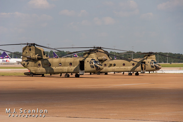 07-08746 US Army National Guard | Boeing CH-47F Chinook | Memphis International Airport