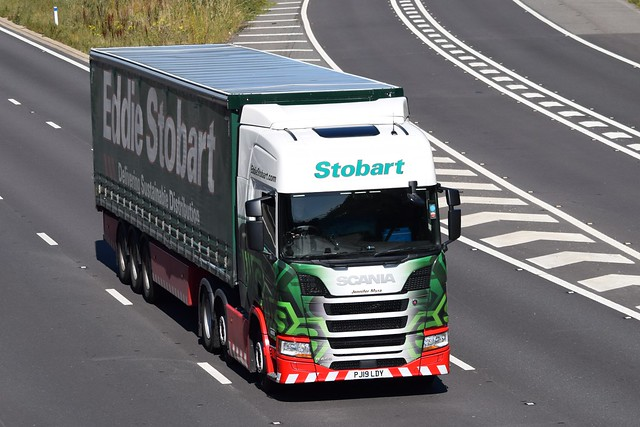 PJ19LDY H5878 Eddie Stobart Scania 'Jennifer Myra'