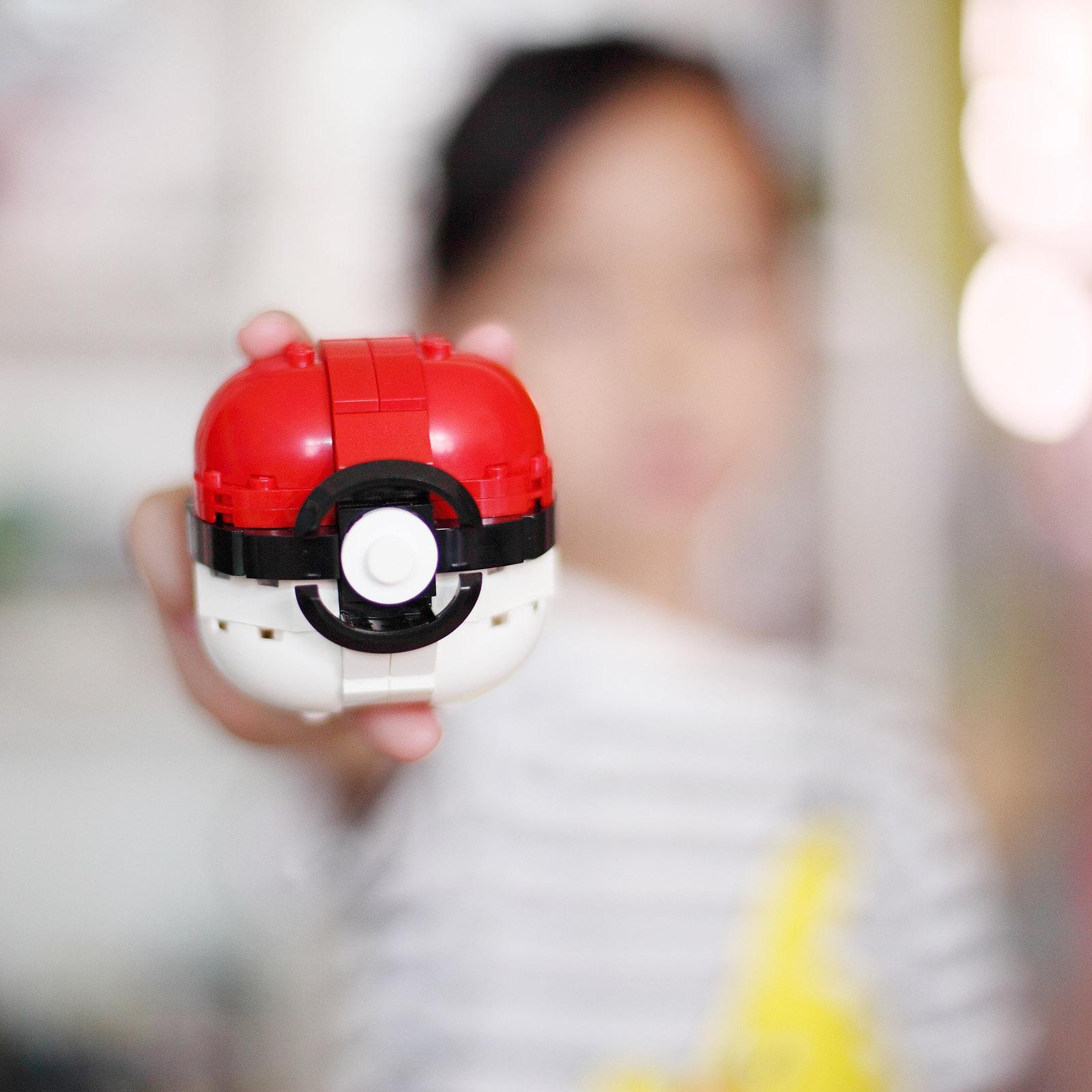 【狗神磚創Moc】Poké Ball - 精靈球