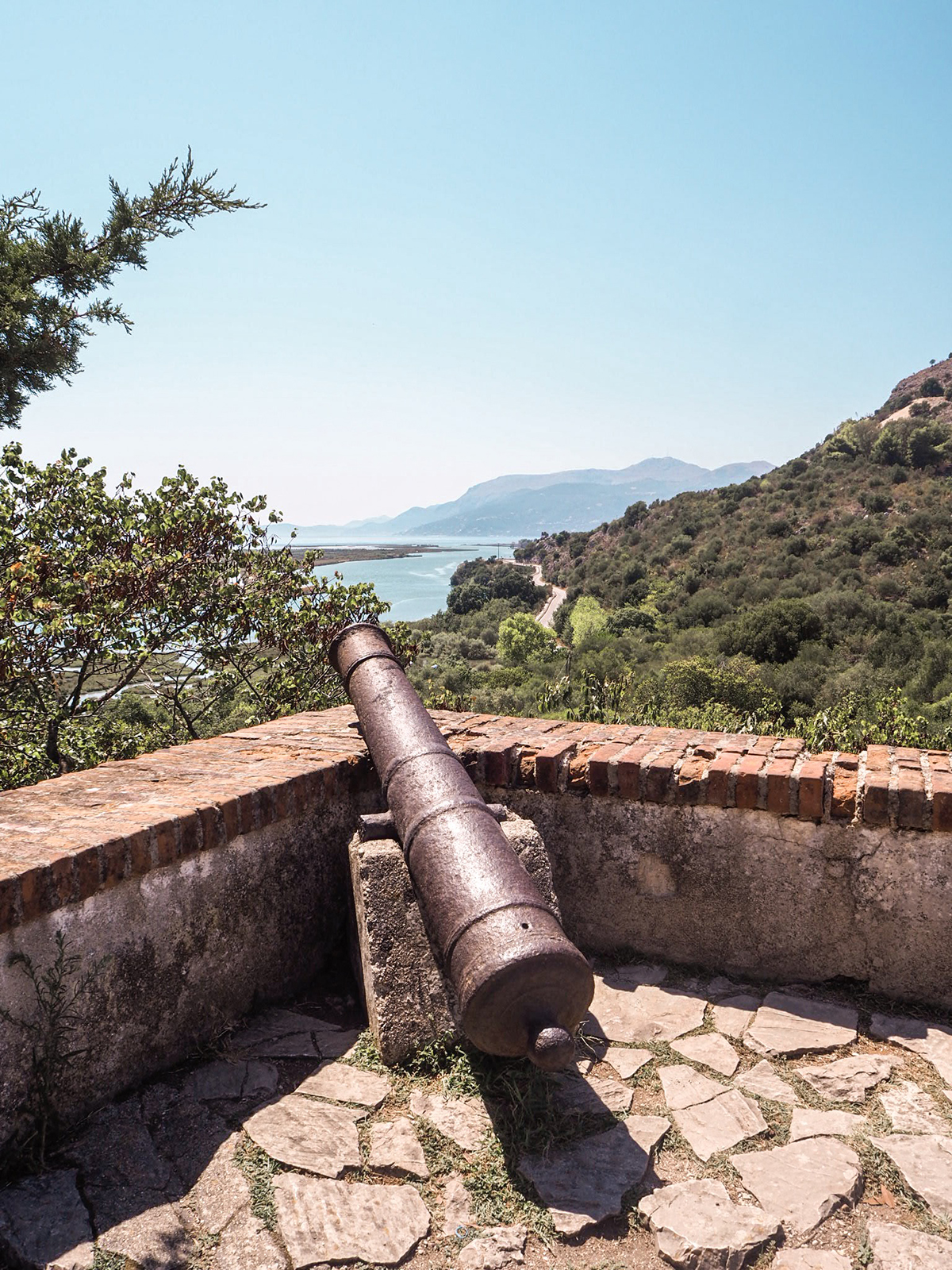 Butrint castle view