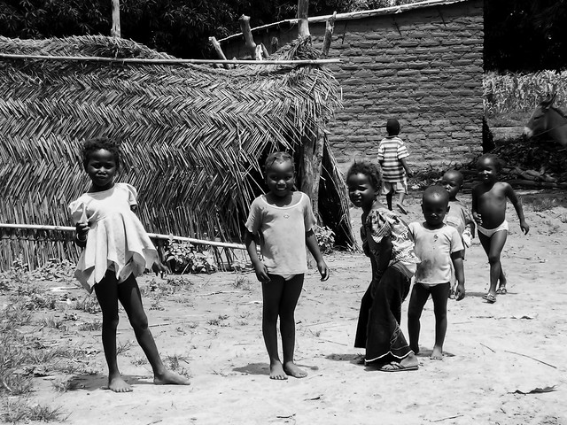 Children of the village - Mali - Africa