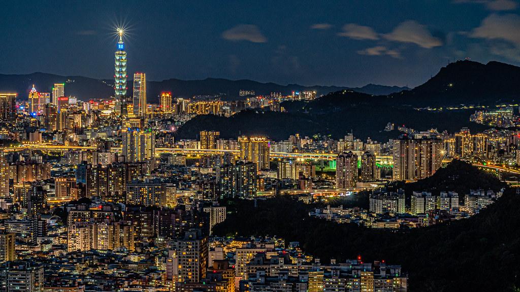 北部打卡景點─台北打卡夜景/中和烘爐地夜景