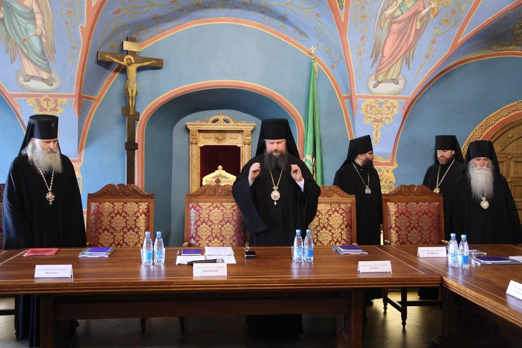 Состоялось заседание Епархиального совета города Москвы