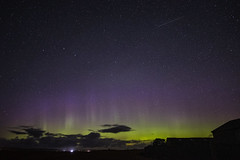 Northern Lights from Loch Of Harray. Orkney