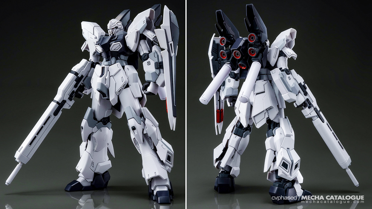 Totally Not Unexpected: HGUC Sinanju Stein Unit 1 (UC-MSV)