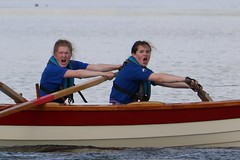 Skiff racing, Queensferry
