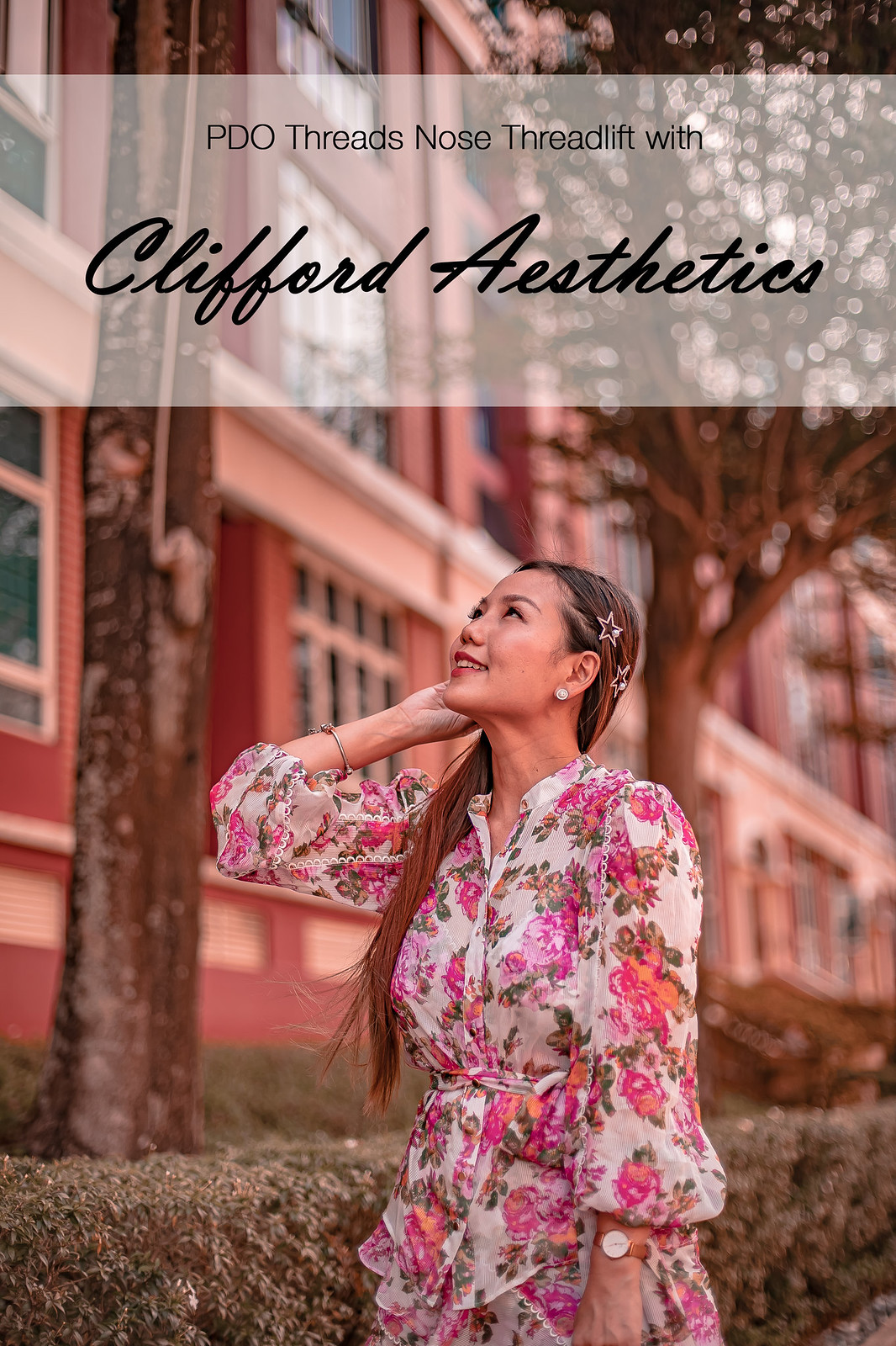 [Beauty] PDO Threads Nose Threadlift with Clifford Aesthetics