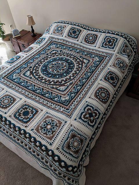 pattern shop crochet blanket