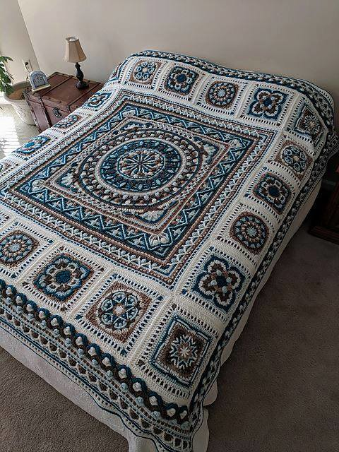 pattern shop crochet blanket