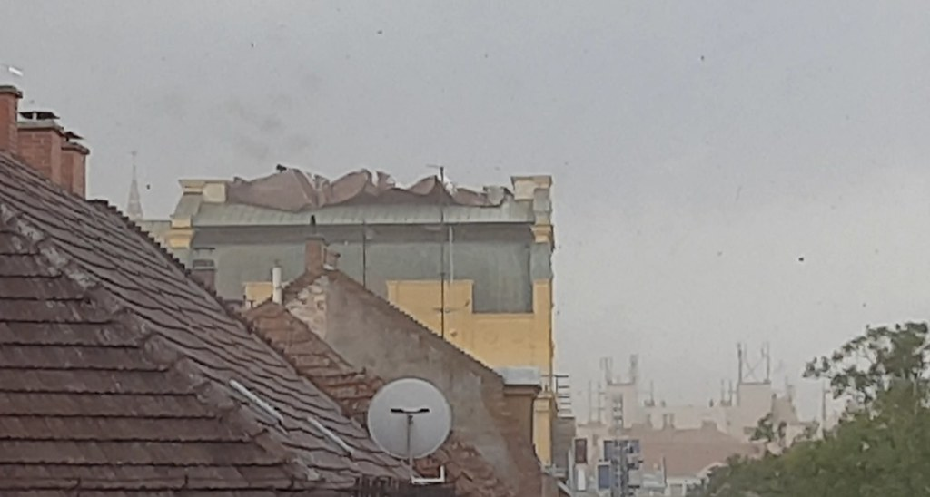 Így szedte szét Szegedet a vihar