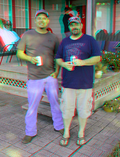 BRANDON AND DOMINIC 9-2-19 3D RED CYAN ANAGYLPH