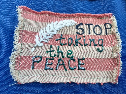 Stop taking the peace