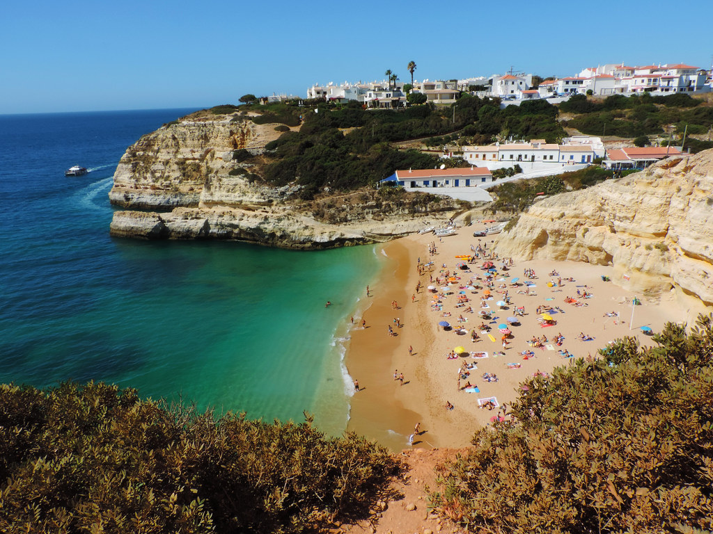 Benagil Beach, Algarve, Portugal
