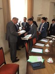 2019.09.05|Welkomstwoord voor delegatie Okazaki Management Club