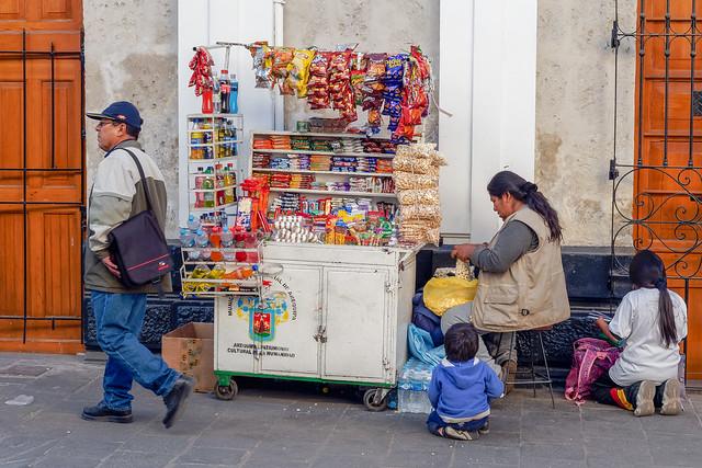 Street seller  .Aréquipa.. Peru Album