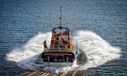 Lizard Lifeboat Launch 8th Sept 19