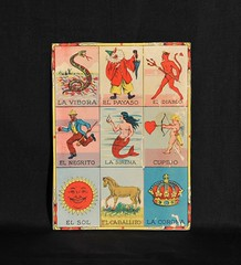 Loteria Lottery Game Card Mexico