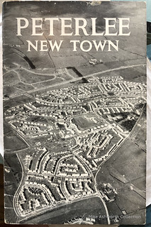 Peterlee New Town booklet cover, c1950