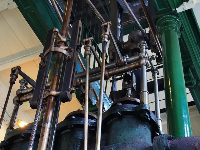 Control hardware, Boulton & Watt engine, 1820 - London Museum of Water & Steam, London TW8.