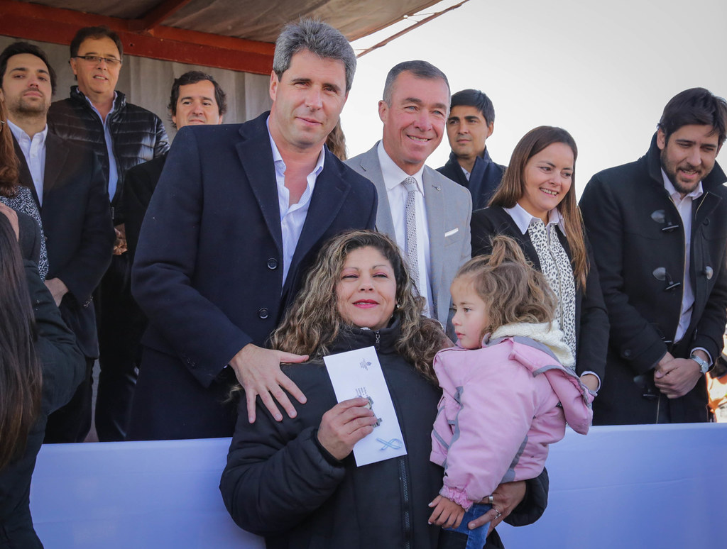 2019-09-09 PRENSA: Entrega de Viviendas en Rivadavia