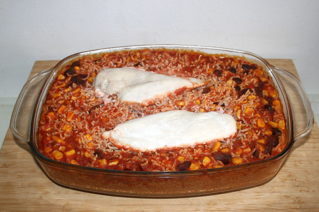 13 - Aus Ofen entnehmen & Alufolie entfernen / Take from oven & remove tin foil