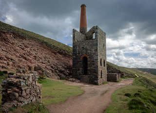 Towanroath Pumping Engine House, Wheal Coates, Chapel Porth