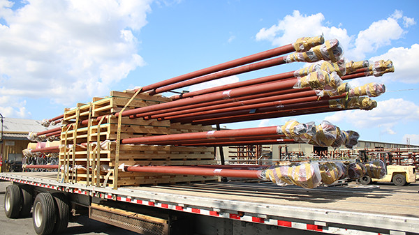 Custom Designed 30 Foot long Rod Hanger Assemblies for a Power Plant in North Carolina