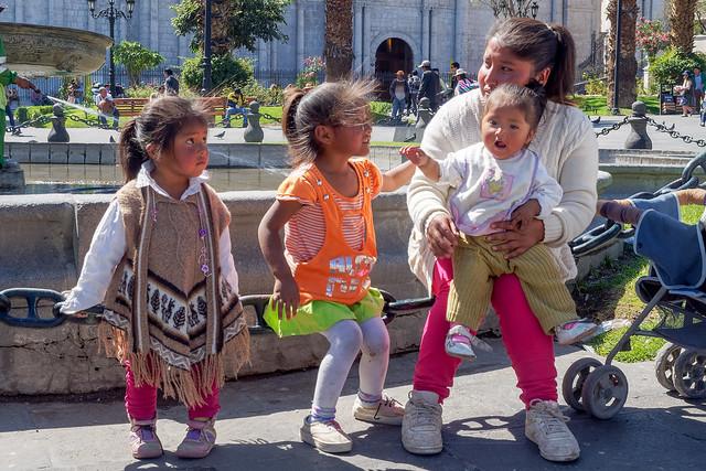 3 Angels and Mother .Aréquipa...Peru Album