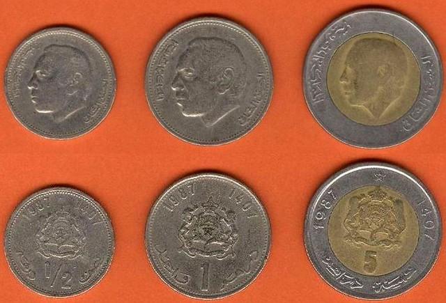 maroko-1-5-dirhams-1987-sada-minci