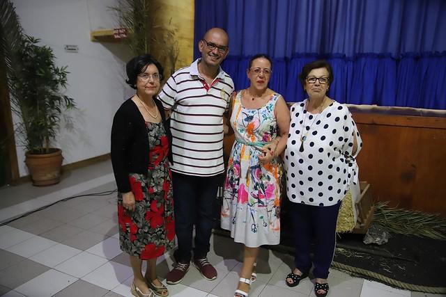Homenaje a María Parrilla López en las fiestas de Tiagua