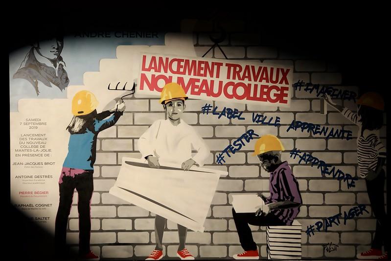 Lancement de la construction du nouveau collège de Mantes-la-Jolie