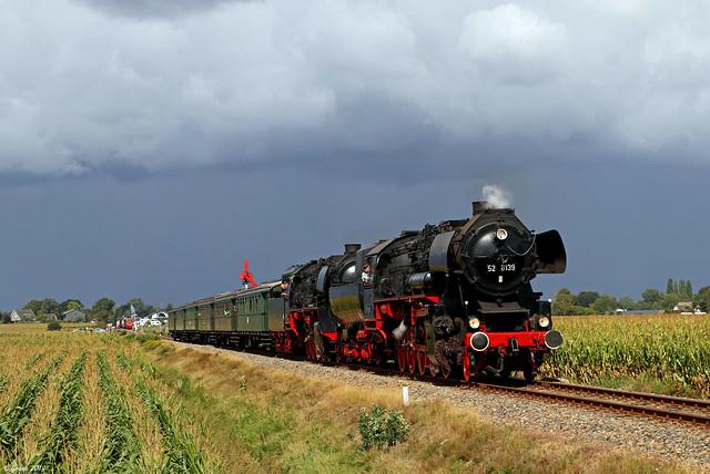 52 8139 verlässt Beekbergen in Richtung Loenen, 07.09.2019