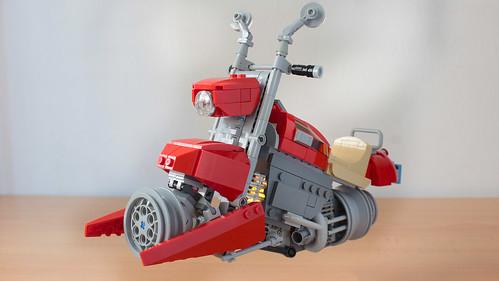 Lego Harley Davidson hover chopper